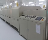 The light guide plate drying furnace production line